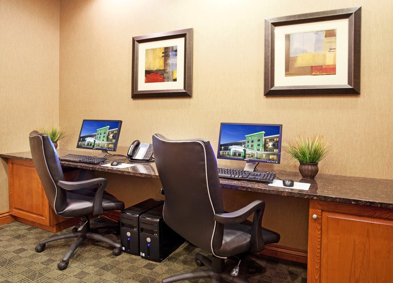 Holiday Inn Casper East - McMurry Park-Complimentary business center helps you stay connected in Casper!<br/>Image from Leonardo