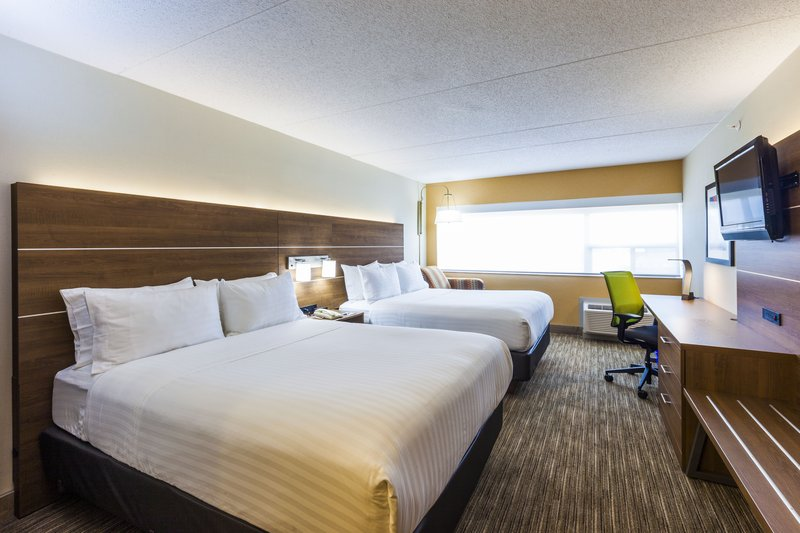 Holiday Inn Express &amp; Suites St. John Harbour Sde-Our Spacious 2 Queen Rooms Were Designed With A Family In Mind<br/>Image from Leonardo