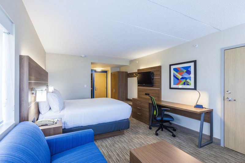 Holiday Inn Express &amp; Suites St. John Harbour Sde-Our Spacious Queen Guestrooms Have All The Amenities You Need<br/>Image from Leonardo