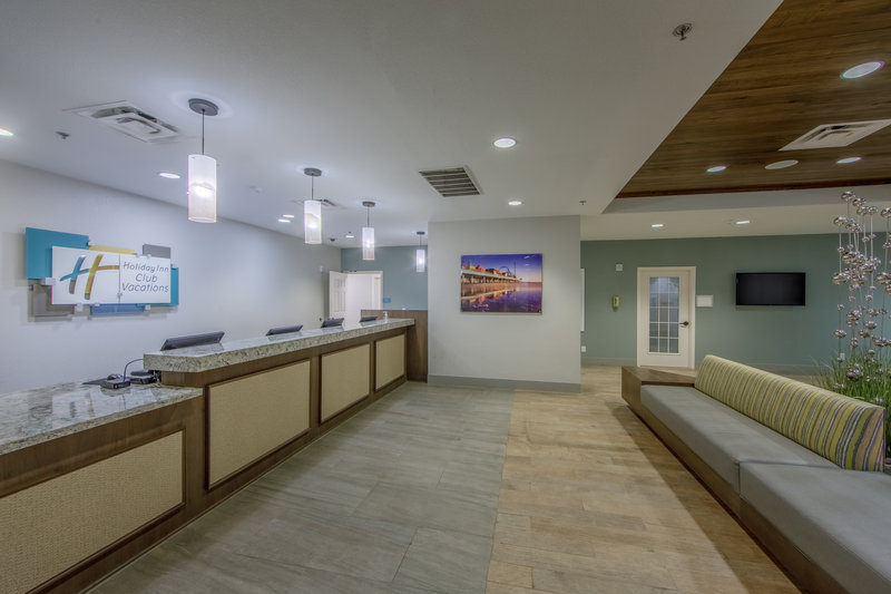 Holiday Inn Club Vacations Galveston Beach Resort-View of the hotel lobby<br/>Image from Leonardo