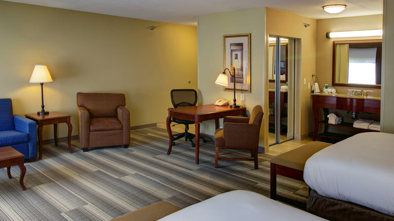 Holiday Inn Express & Suites Sioux City - Southern Hills-Two Queen Suite with Queen Sofa Sleeper<br/>Image from Leonardo