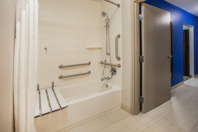 Holiday Inn Express Radcliff - Fort Knox-ADA Guest Bathroom <br/>Image from Leonardo