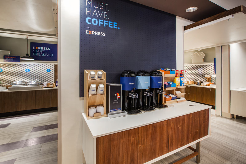 Holiday Inn Express Radcliff - Fort Knox-Coffee Station <br/>Image from Leonardo