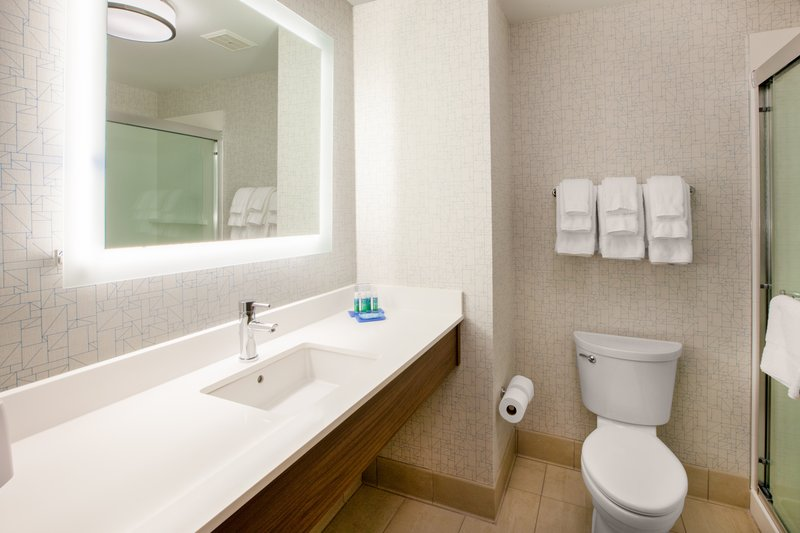 Holiday Inn Express Radcliff - Fort Knox-Guest Bathroom <br/>Image from Leonardo