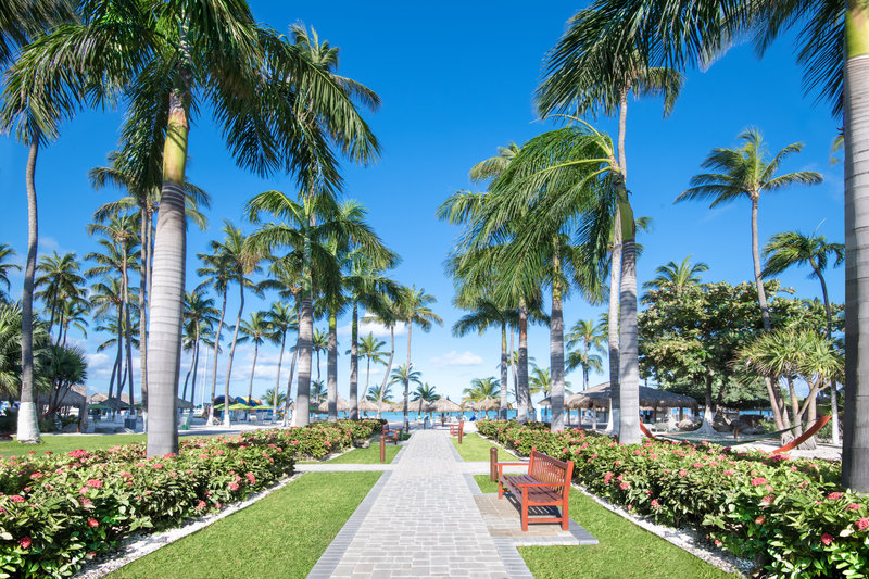 Holiday Inn Resort Aruba - Courtyard Walkway  <br/>Image from Leonardo