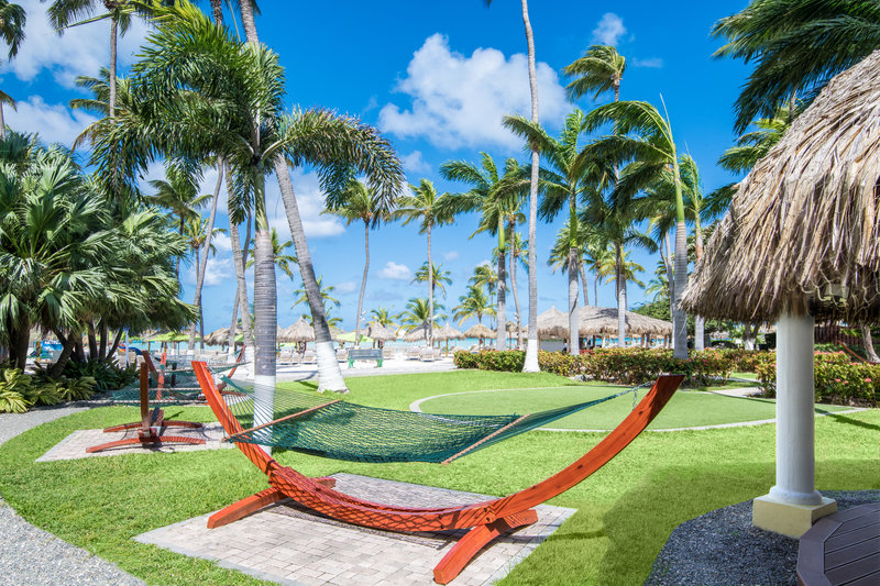 Holiday Inn Resort Aruba - Courtyard Hammocks  <br/>Image from Leonardo