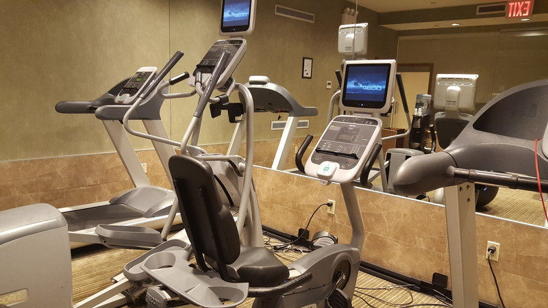 Holiday Inn L.I. City-Manhattan View-Top-of-the-line Fitness Equipment<br/>Image from Leonardo