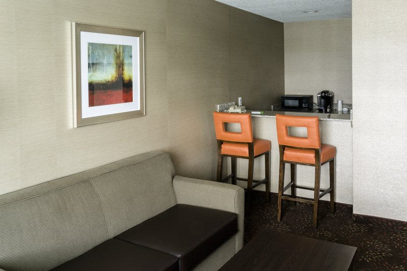Holiday Inn Big Rapids-King Bed Suite Wet Bar Area<br/>Image from Leonardo