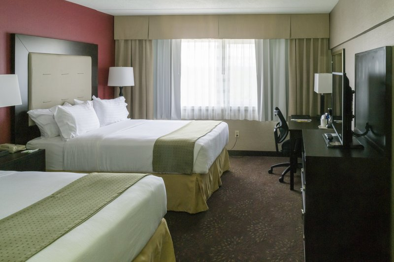Holiday Inn Big Rapids-Two Queen Bed Guest Room<br/>Image from Leonardo