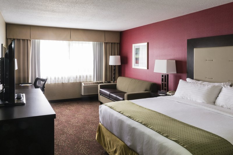 Holiday Inn Big Rapids-King Bed Sofa Sleeper Guest Room<br/>Image from Leonardo