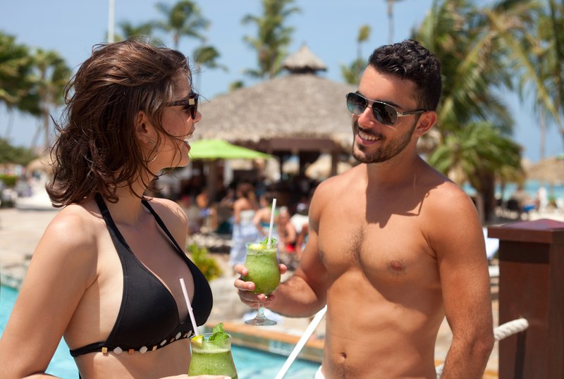 Holiday Inn Resort Aruba - Cool drinks on hot days at Aruba's Holiday Inn Resorts <br/>Image from Leonardo