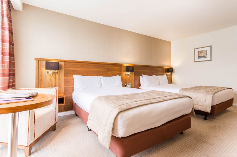Holiday Inn Newcastle-Jesmond-Twin bedrooms have two double beds<br/>Image from Leonardo