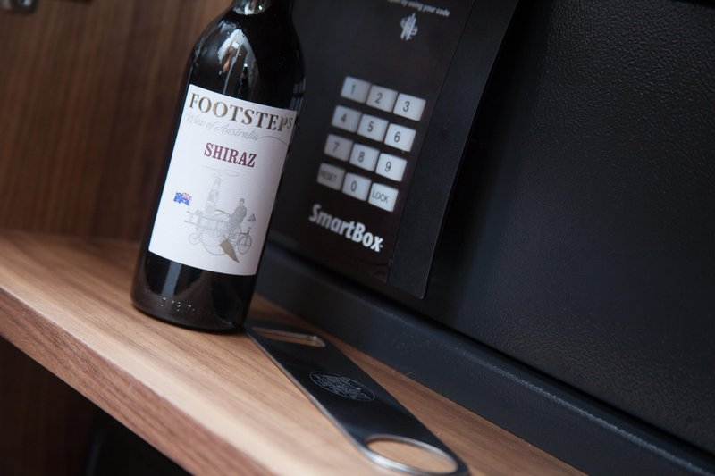 Holiday Inn Newcastle - Gosforth Park-You could lock the wine in the safe save a hangover the next day!<br/>Image from Leonardo