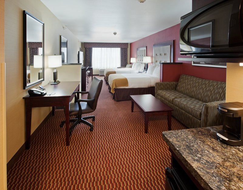 Holiday Inn Express & Suites Great Falls-Two Queen Suite with Pull-out Couch and Kitchenette<br/>Image from Leonardo