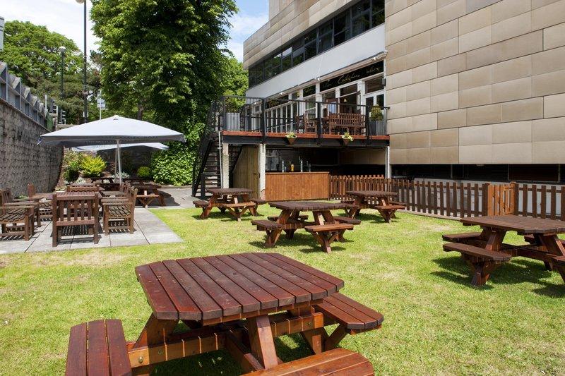 Holiday Inn Cardiff City Centre-Beer Garden<br/>Image from Leonardo
