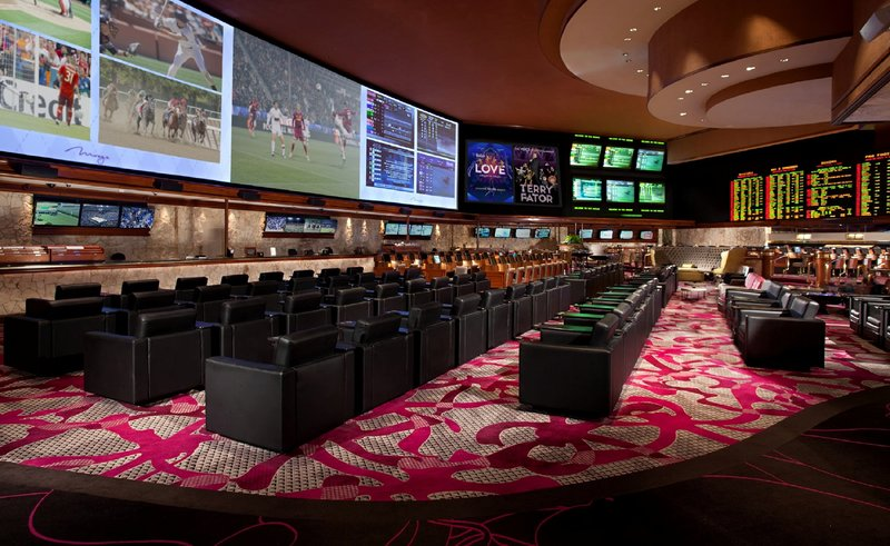 The Mirage Hotel and Casino - Mirage Race And Sports Lounge <br/>Image from Leonardo
