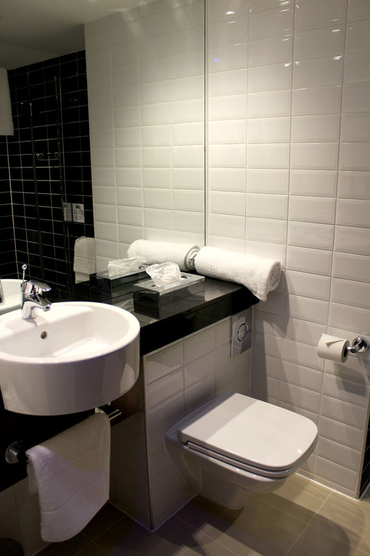 Holiday Inn Express Wakefield-Exceptional Guest Bathroom<br/>Image from Leonardo