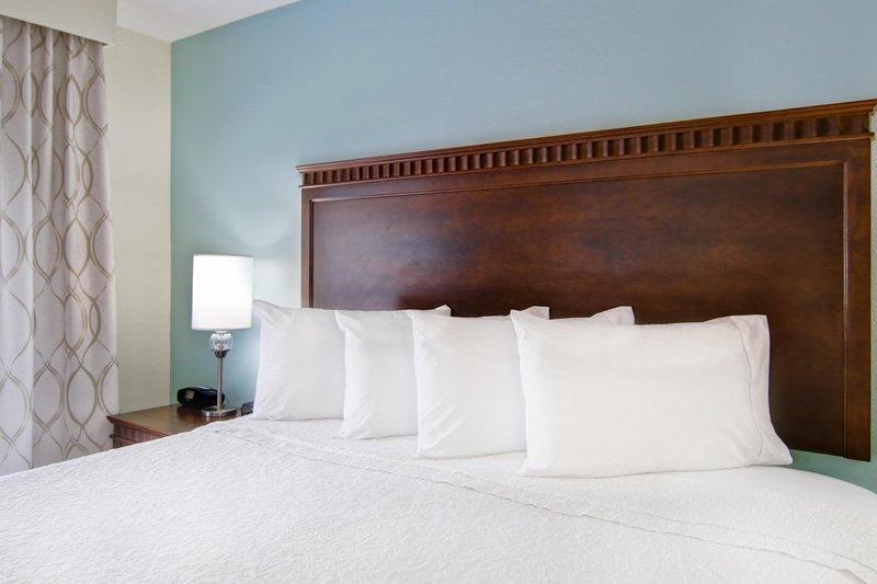 Hampton Inn &amp; Suites by Hilton Saint John-Queen Accessible Bedroom <br/>Image from Leonardo