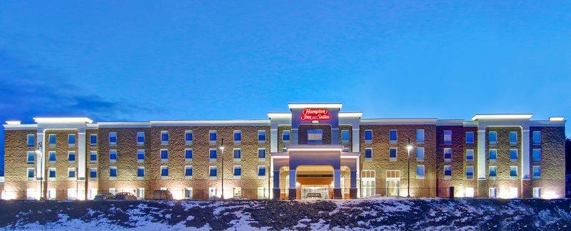 Hampton Inn &amp; Suites by Hilton Saint John-Exterior Night<br/>Image from Leonardo