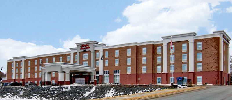 Hampton Inn &amp; Suites by Hilton Saint John-Exterior Day<br/>Image from Leonardo