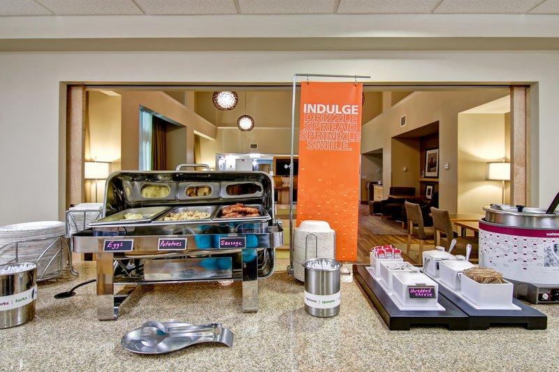 Hampton Inn &amp; Suites by Hilton Saint John-On The House hot Breakfast<br/>Image from Leonardo