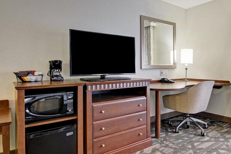 Hampton Inn &amp; Suites by Hilton Saint John-Double Queen Bed TV<br/>Image from Leonardo