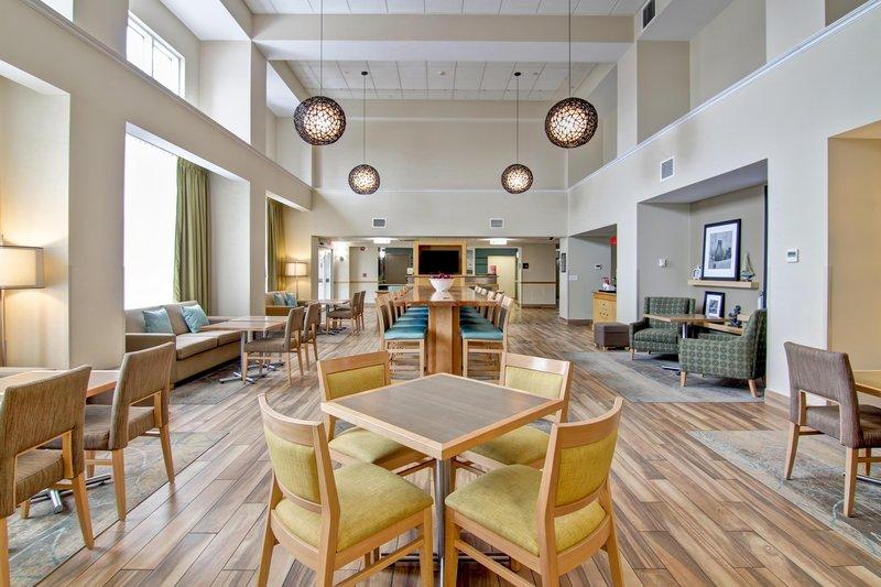 Hampton Inn &amp; Suites by Hilton Saint John-Breakfast Sitting Area<br/>Image from Leonardo