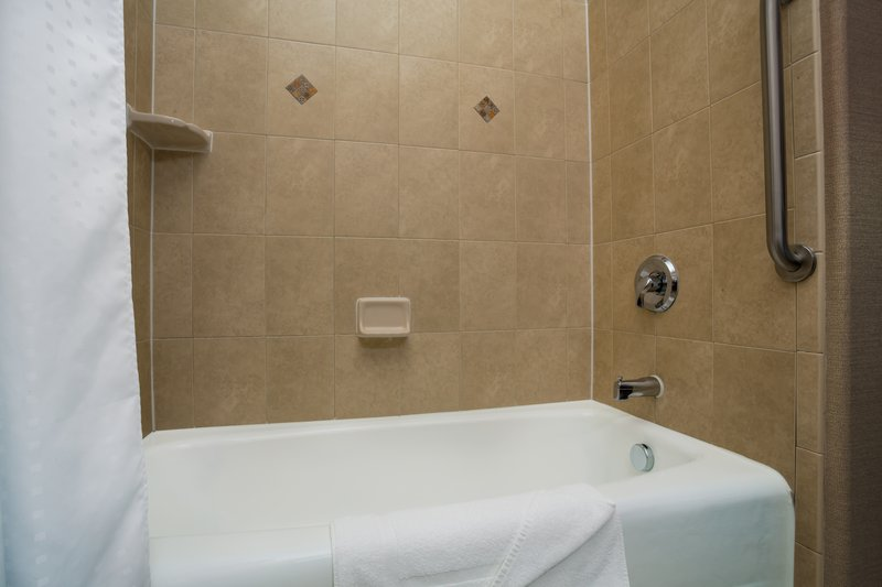 Holiday Inn Express & Suites Moab-Guest Bathroom <br/>Image from Leonardo