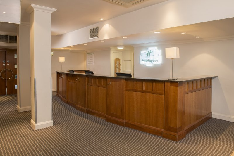 Holiday Inn Basildon-Our Reception staff can assist you with any business centre needs<br/>Image from Leonardo
