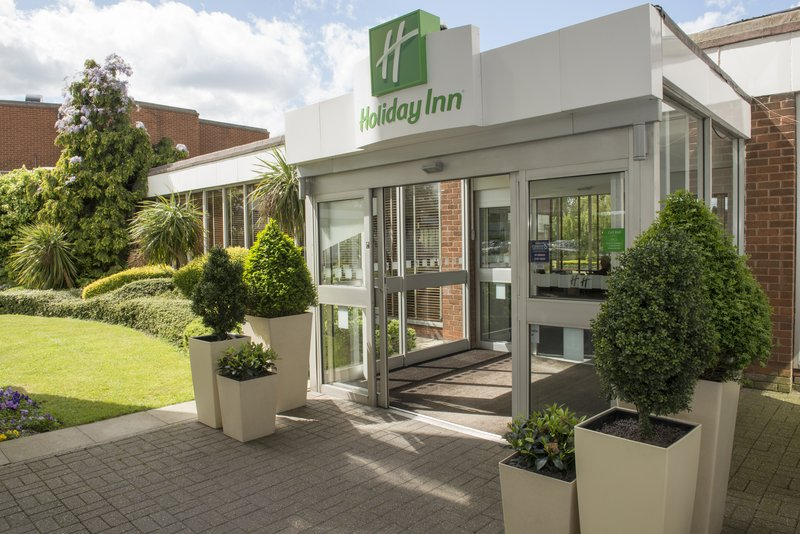 Holiday Inn Basildon-Entrance to the Hotel<br/>Image from Leonardo