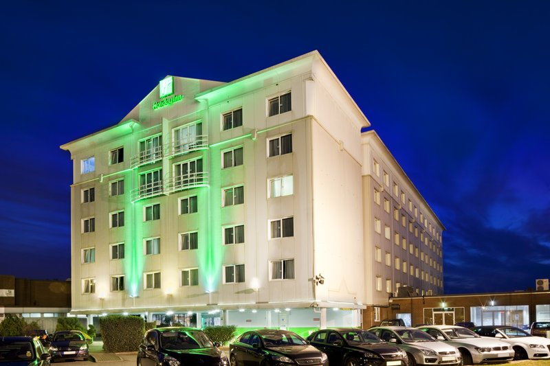 Holiday Inn Basildon-Hotel Exterior at Night<br/>Image from Leonardo