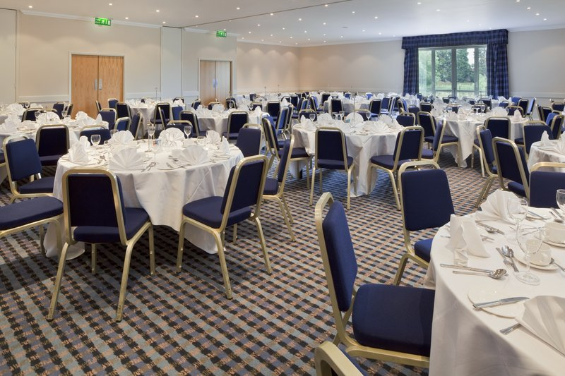 Holiday Inn Basildon-Our Elizabeth Suite set for a banquet<br/>Image from Leonardo