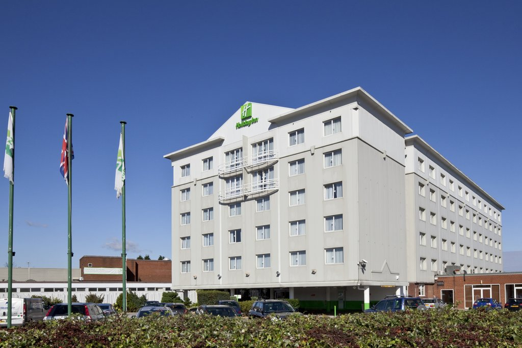 Holiday Inn Basildon-Hotel Exterior from the Car Park<br/>Image from Leonardo