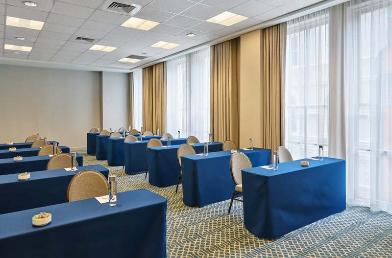 Astor Crowne Plaza French Quarter - St. Ann accommodates up to 35 attendees in classroom setup. <br/>Image from Leonardo
