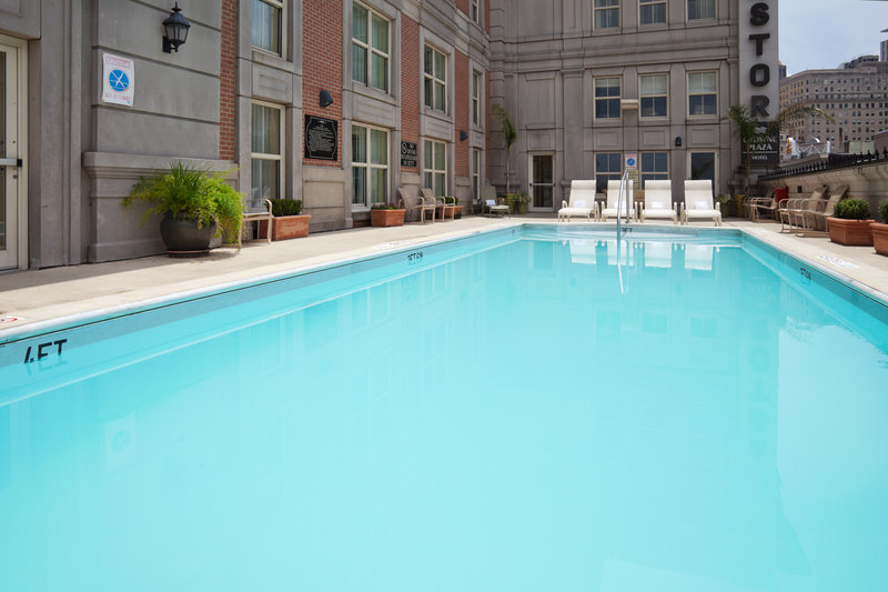 Astor Crowne Plaza French Quarter - Swimming Pool <br/>Image from Leonardo