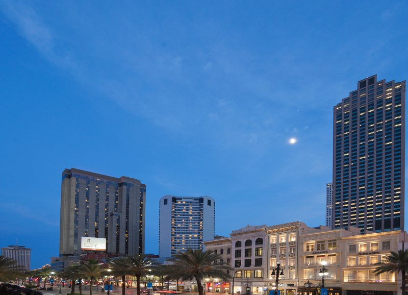 Astor Crowne Plaza French Quarter - Skyline of Downtown New Orleans and the French Quarter <br/>Image from Leonardo