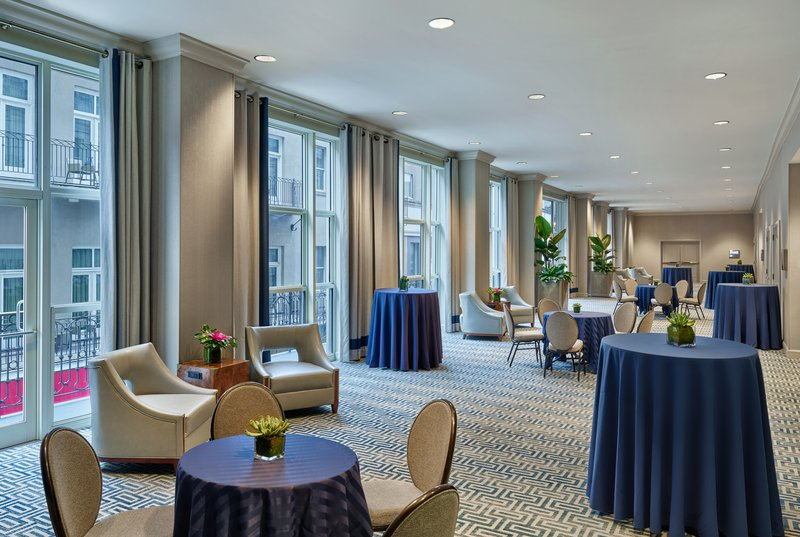 Astor Crowne Plaza French Quarter - Grand Gallery offers views of Bourbon Street. <br/>Image from Leonardo