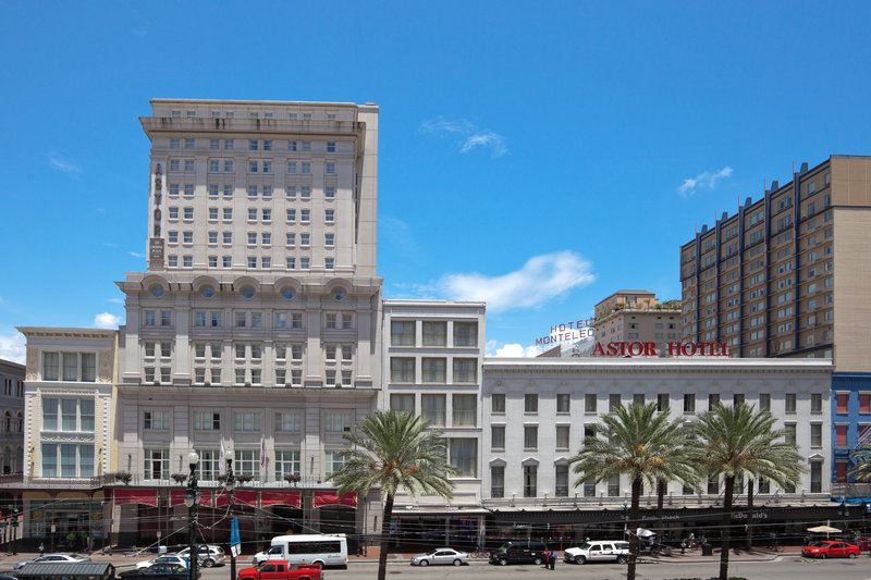 Astor Crowne Plaza French Quarter - Canal Street Shopping and View of Crowne Plaza <br/>Image from Leonardo