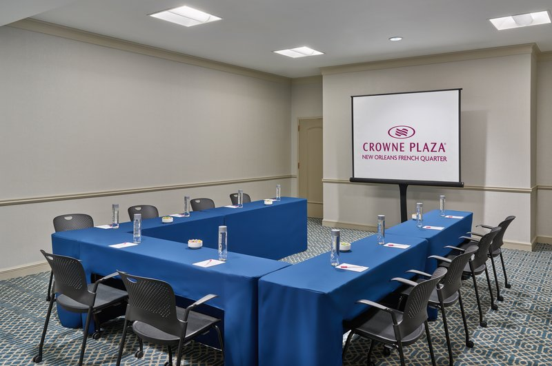 Astor Crowne Plaza French Quarter - The Burgundy Room is ideal for meetings up to 40 attendees. <br/>Image from Leonardo