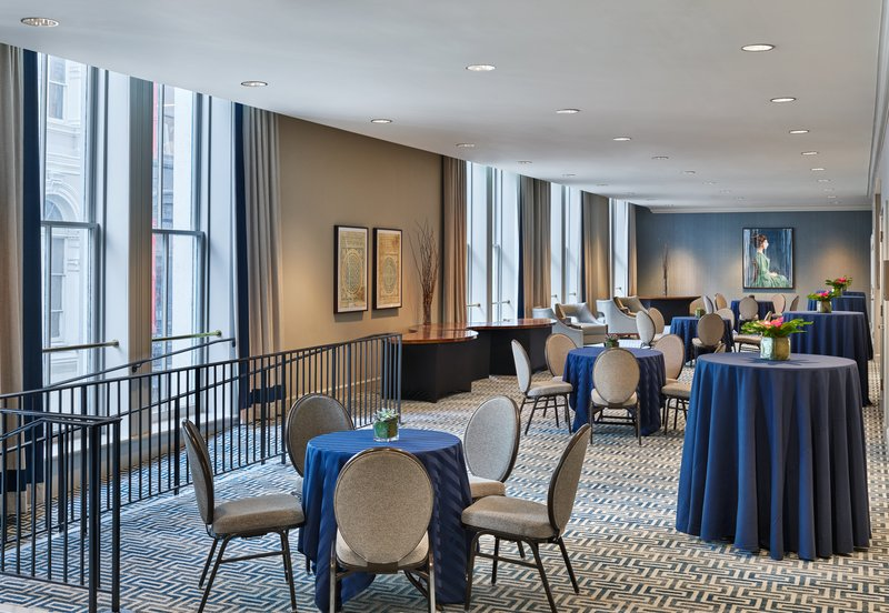 Astor Crowne Plaza French Quarter - Astor Gallery features floor to ceiling windows. <br/>Image from Leonardo
