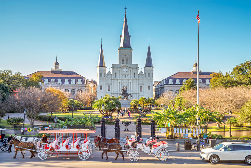 Astor Crowne Plaza French Quarter - Jackson Square - Steps away from hotel <br/>Image from Leonardo