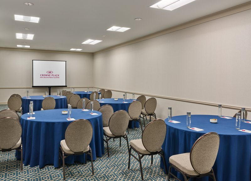 Astor Crowne Plaza French Quarter - Bourbon offers 810 square feet of space for your meeting or event. <br/>Image from Leonardo