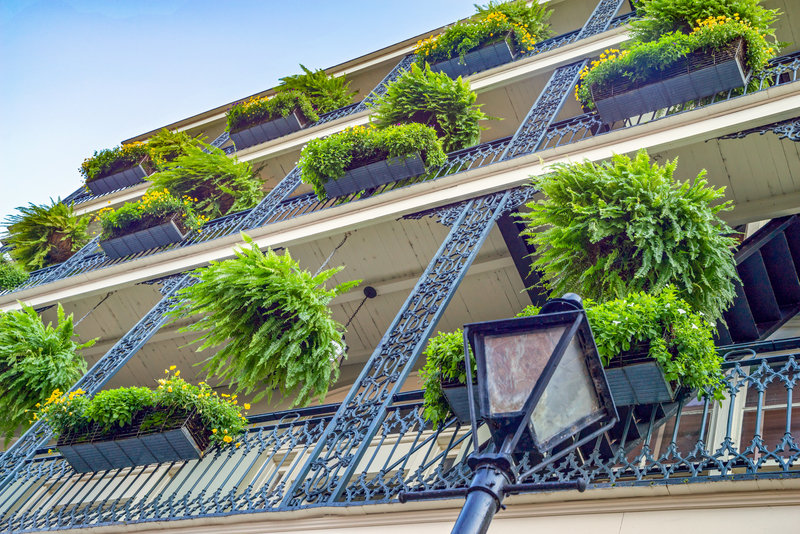 Astor Crowne Plaza French Quarter - Balconies <br/>Image from Leonardo
