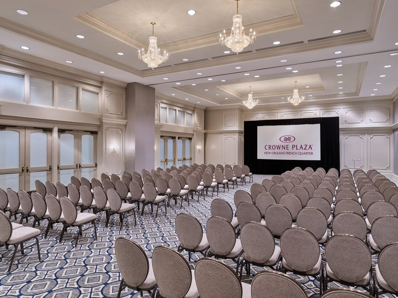 Astor Crowne Plaza French Quarter - Host a meeting in New Orleans in the elegant St. Charles Ballroom. <br/>Image from Leonardo