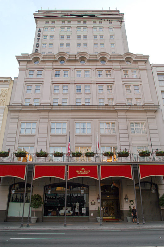 Astor Crowne Plaza French Quarter - Canal Street Hotel Entrance View of Astor Crowne Plaza <br/>Image from Leonardo
