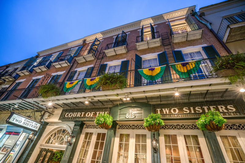Astor Crowne Plaza French Quarter - Court of the Two Sisters <br/>Image from Leonardo