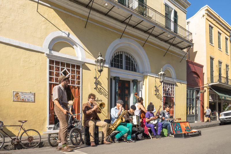 Astor Crowne Plaza French Quarter - Street Performers <br/>Image from Leonardo