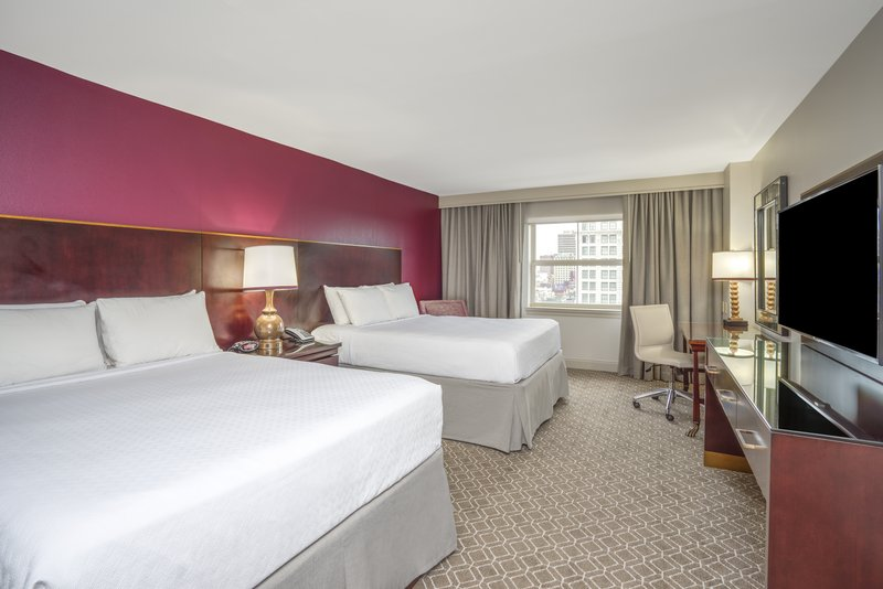 Astor Crowne Plaza French Quarter - Two Queen Beds Guest Room with View <br/>Image from Leonardo