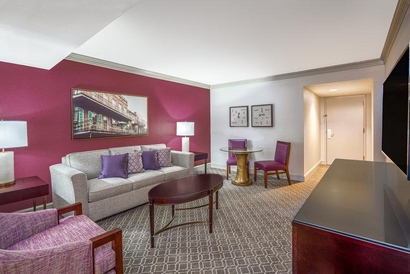 Astor Crowne Plaza French Quarter - Suite Parlor <br/>Image from Leonardo