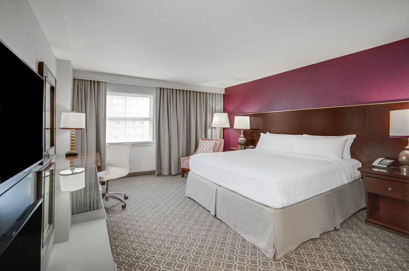 Astor Crowne Plaza French Quarter - ADA/Handicapped Accessible One King Bed Guest Room <br/>Image from Leonardo